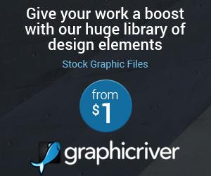 graphicriver.net - Parim valik graafikat kodulehele