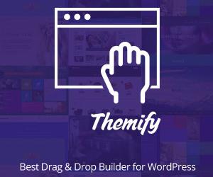 Themify.me - Mugavaim WordPress Drag&Drop kodulehe kujundaja
